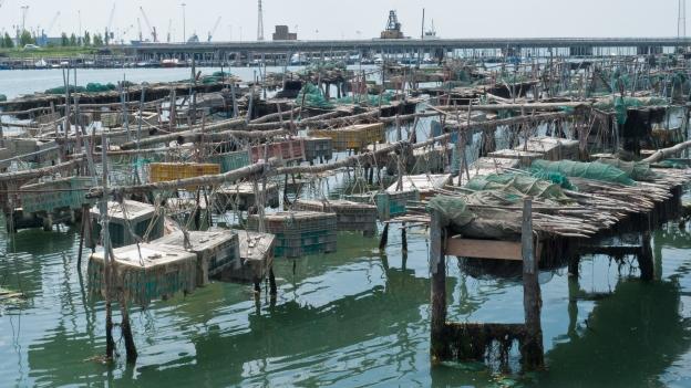 Chioggia - fishing nets