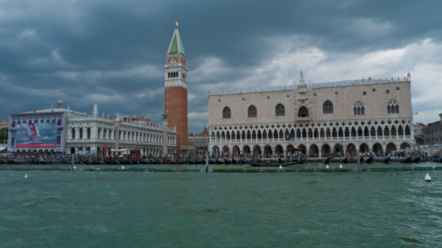 Venezia - approaching the piazza di San Marco by vaporetto
