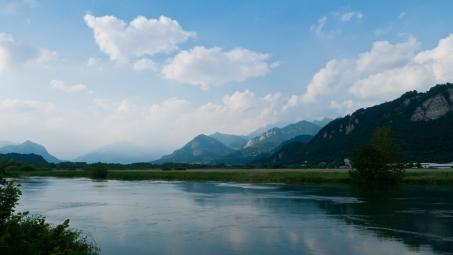 River Adda near Airuno