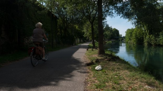 Treviso: the GiraSile cycleway