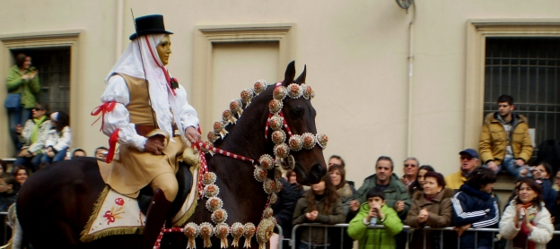 Su Componidori the key figure in the Sartiglia di Oristano