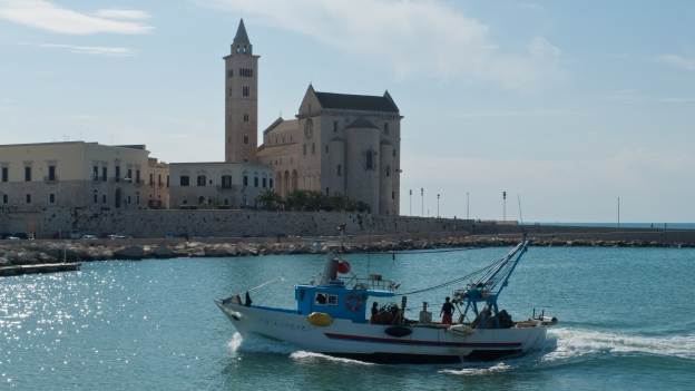 Trani fishing boat