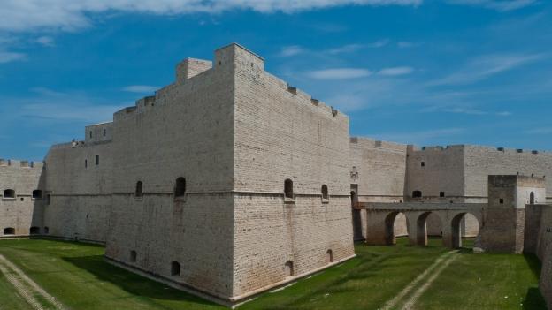 Aragonese castle in Barletta (Puglia)