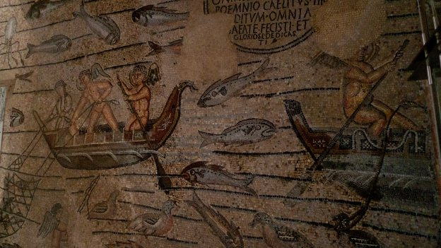 Basilica di Aquileia - mosaics