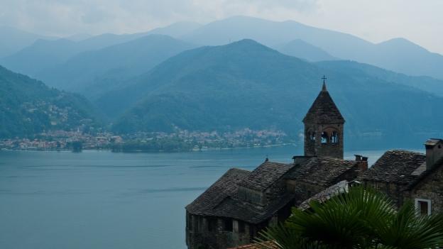 Lago Maggiore from Carmine Superiore (Piemonte)