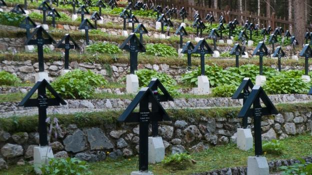 War cemetery dei Sorgenti