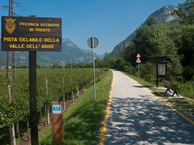 Valle dell'Adige cycleway (Trentino)