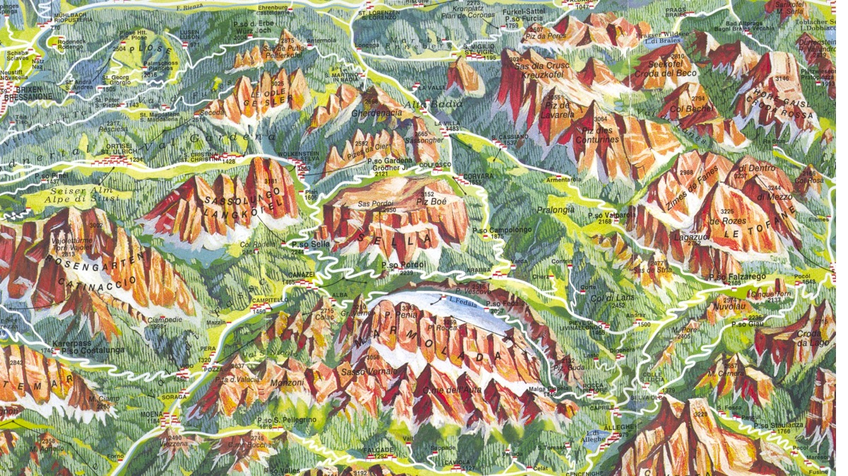 Planning your trip: books and maps • Italy Cycling Guide on