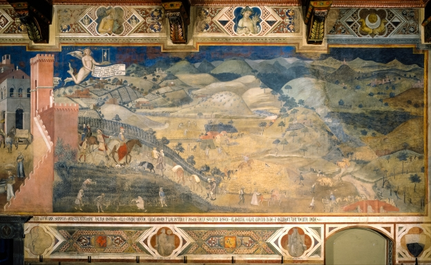 Ambrogio Lorenzetti: the Effects of Good Government in the Countryside