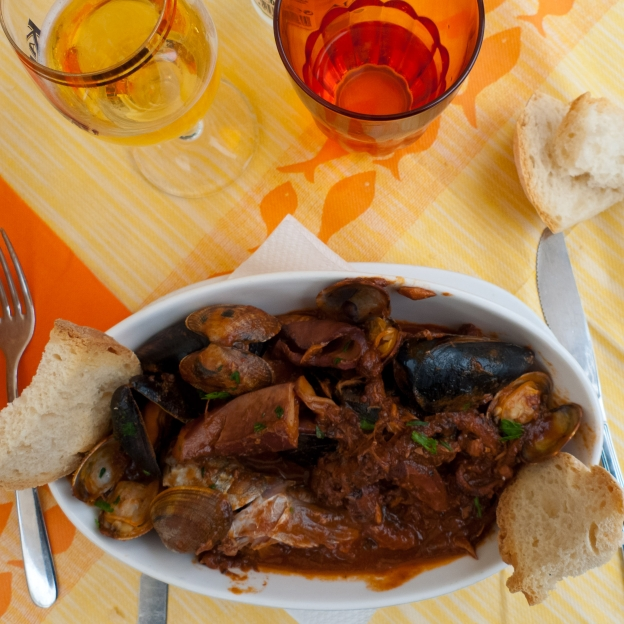 Cacciucco - Livornese fish stew