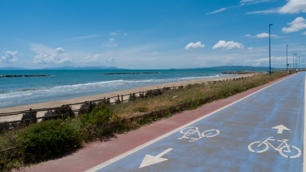 Cycleway near Fallonica (Toscana)