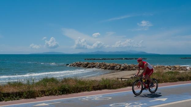 Toscana - Cycleway near Follonica