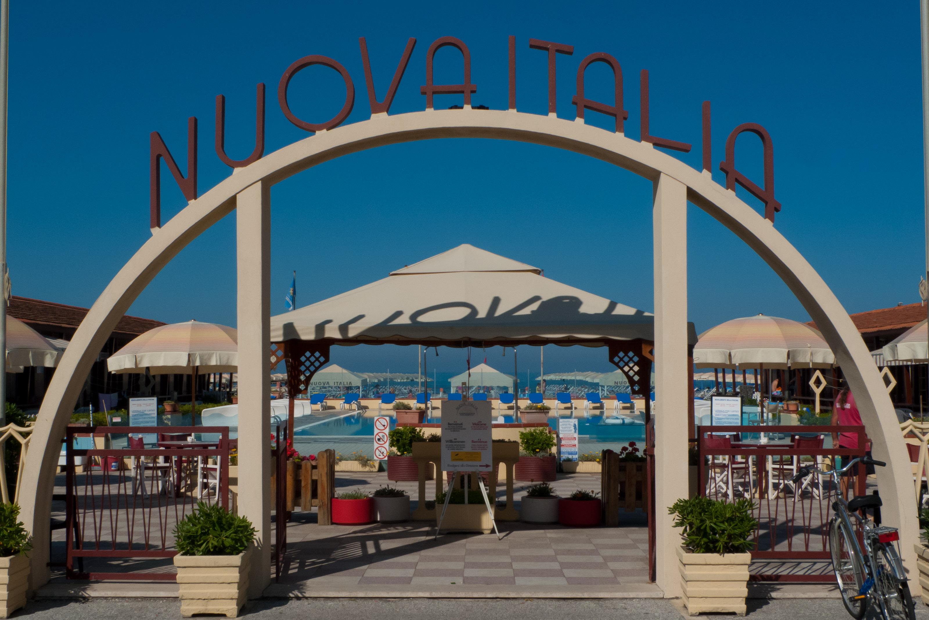 Art Deco Lido entrance - Viareggio (Toscana)