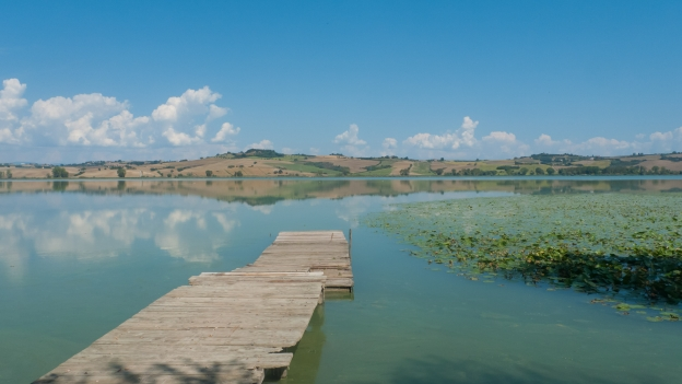 The Lago di Chiusi