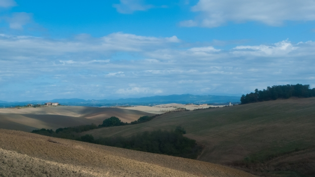 Grand Tour della Val di Merse - looking towards Siena
