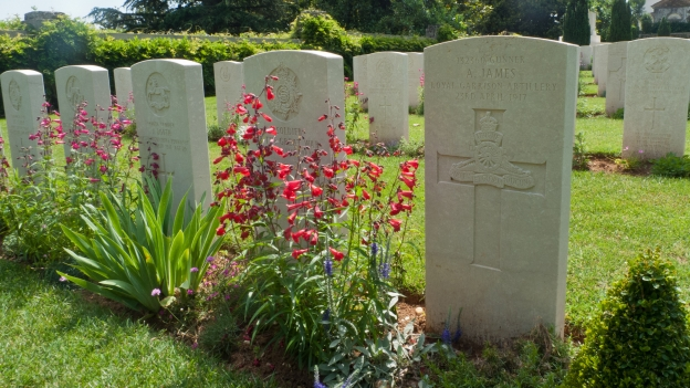 British Cemetery at Giavera del Montello