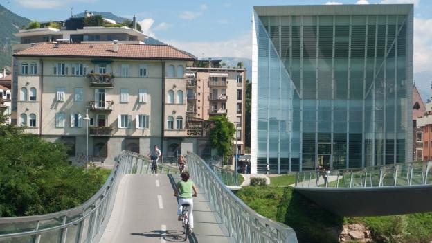 Cycleway in Bozen