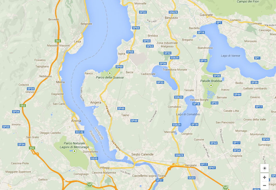 Road Map Of Southern Italy.Routeplanning Which Roads Italy Cycling Guide