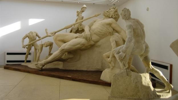 Sperlonga - Polyphemus group from the Museo Nazionale Villa di Tiberio