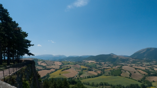 Camerino (Le Marche) - view from the city walls