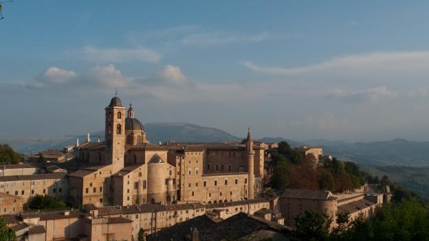 Urbino (Le Marche) - view of the Palazzo Ducale