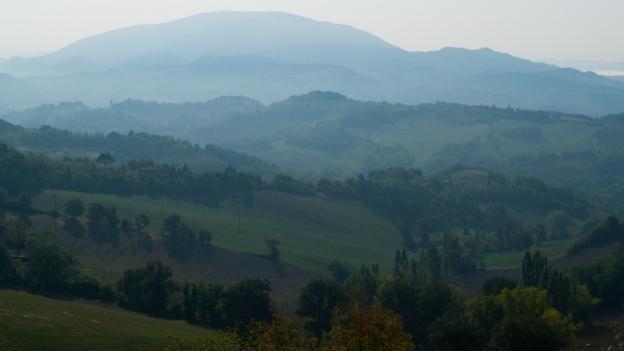 Le Marche countryside near Urbino