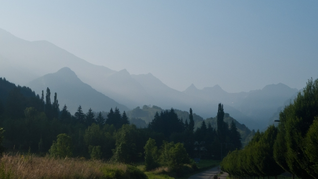 The Val Gesso on the road to Entracque