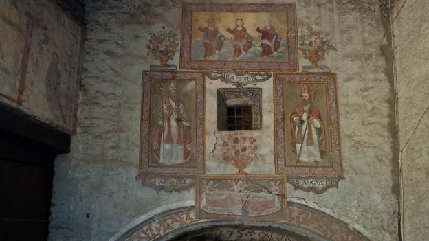Mural - Borgata Chiesa, Bellino