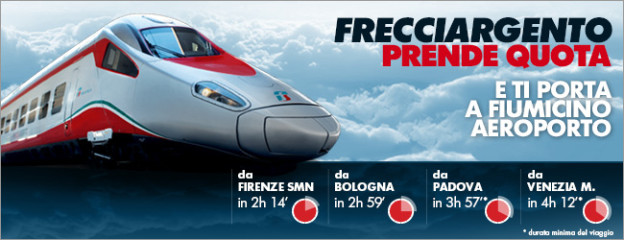 trenitalia.com: frecciargento journey times