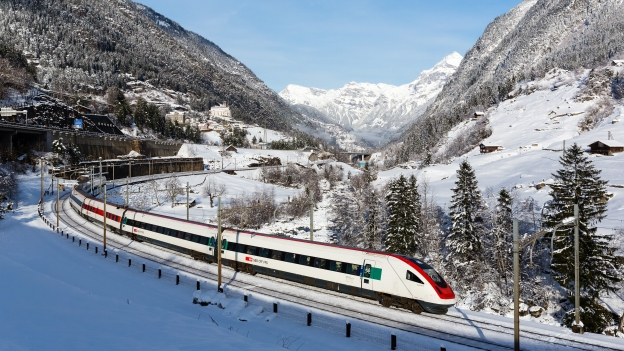 Swiss Railways train.