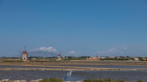 The Saline Ettore e Infersa near Marsala