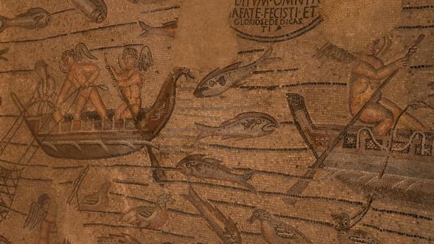 Aquileia mosaics (detail)