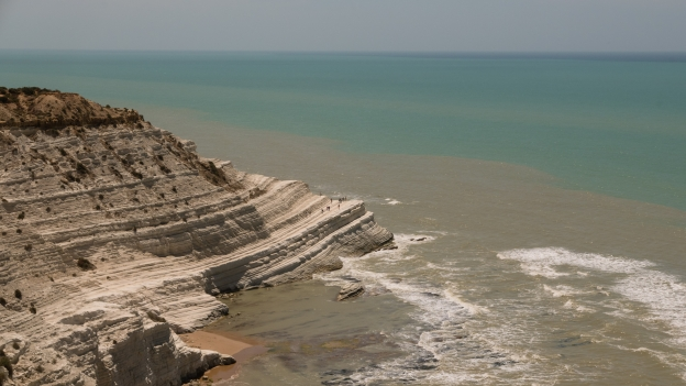 Sicilia coast - the Scala dei Turchi
