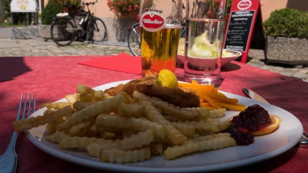 Lunch (Gasthof Funder Lind im Drautal)