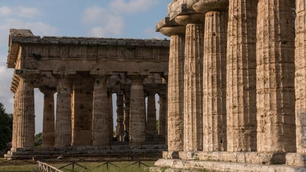 Paestum: Tempio di Nettuno and Tempio di Hera