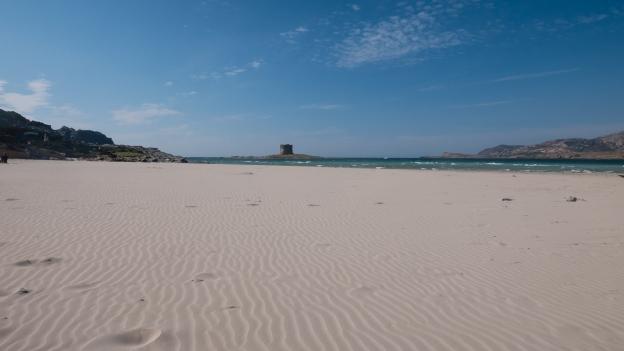 Stintino: Spiaggia della Pelosa and Torre della Pelosa