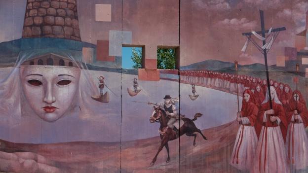 Mural in Gonnostramatza