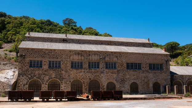 Mine buildings - part of the Montevecchio mining complex (Cantiere di Piccalina)