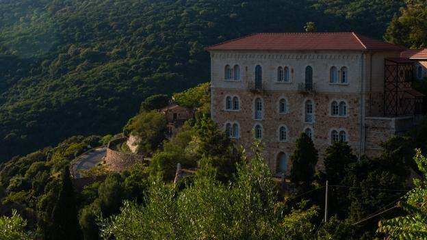 Ingurtosu: the 'Castello della gestione' (Management Castle)