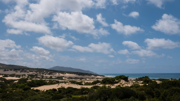 The Piscinas dunes