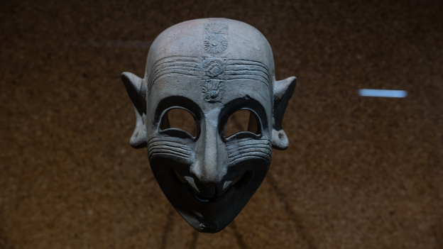 Phoenician mask from the Museo Archeologico Nazionale in Cagliari