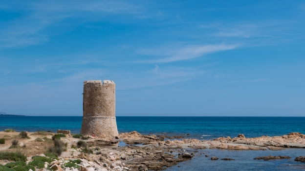 The Torre San Giovanni at La Caletta