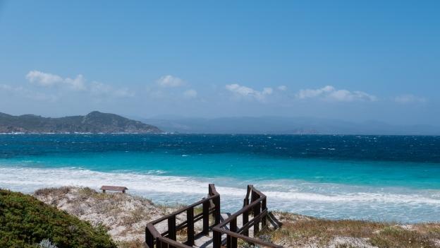 Beach near the Capo Testa