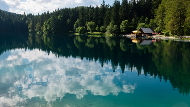 The Lago di Fusine Inferiore