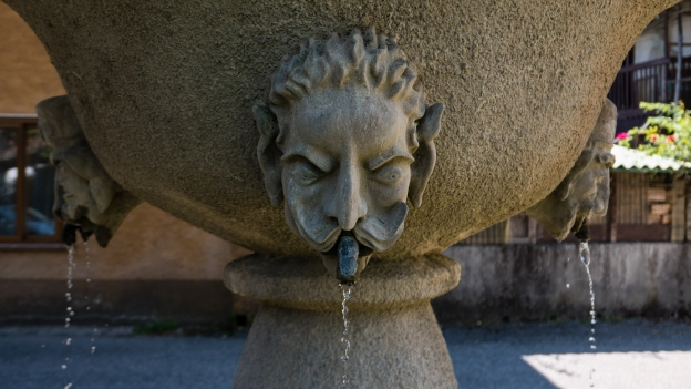 Water fountain in Biacis