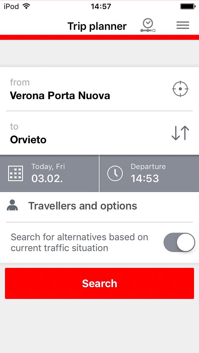 DB Navigator search screen