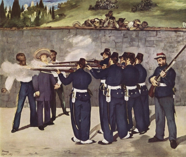 Execution of the Emperor Maximillian by Édouard Manet