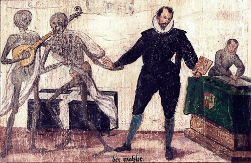 The Füssen Totentanz: Death comes for the artist