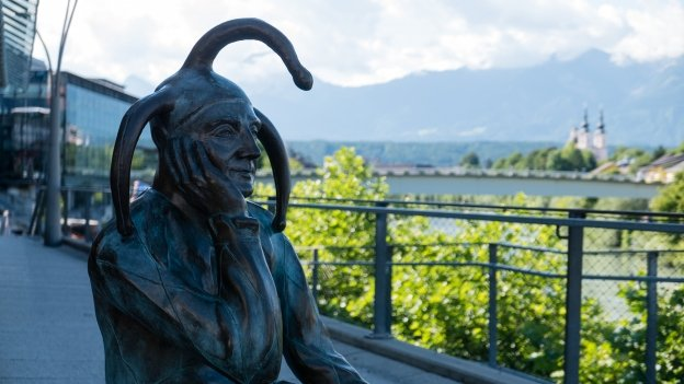 Sculpture in Villach