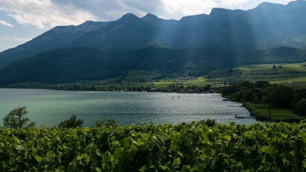 The Kalterer See (Lago di Caldaro)